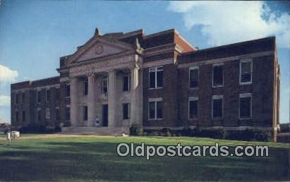 Russell County Courthouse - Phenix City, Alabama AL Postcard