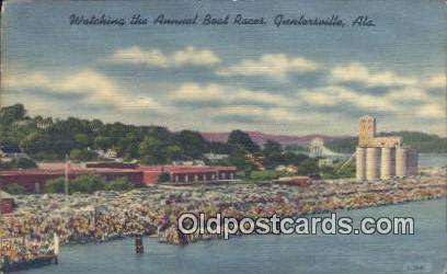 Annual Boat Races - Guntersville, Alabama AL Postcard