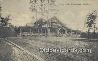 Country CLub - Birmingham, Alabama AL Postcard