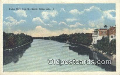 Dallas Club from the River - Selma, Alabama AL Postcard