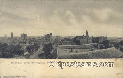 Birmingham, Alabama     ;     Birmingham, AL Postcard