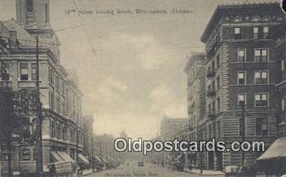 19th Street - Birmingham, Alabama AL Postcard