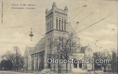 Church of the Advent - Birmingham, Alabama AL Postcard