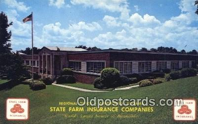 State Farm Insurance Co - Birmingham, Alabama AL Postcard