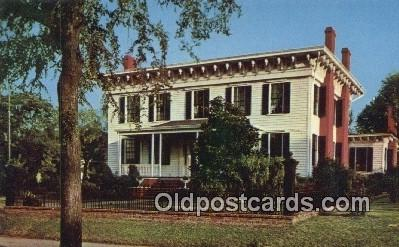 First White House of the Confederacy - Montgomery, Alabama AL Postcard