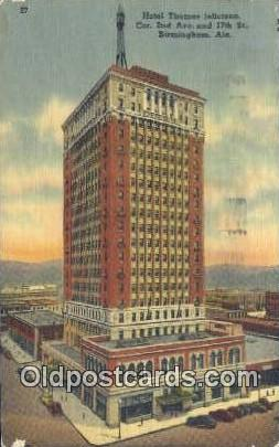 Hotel Thomas Jefferson - Birmingham, Alabama AL Postcard