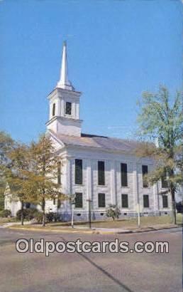 First Presbyterian Church - Eutaw, Alabama AL Postcard