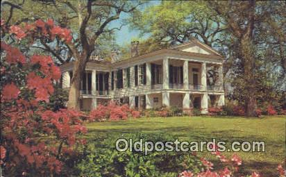 Oakleigh, Live Oaks - Mobile, Alabama AL Postcard