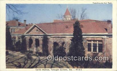Carver Museum - Tuskege Institue, Alabama AL Postcard