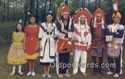 Eastern Band of the Creek Indian Nation - Atmore, Alabama AL Postcard
