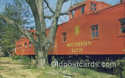 Jay's Caboose - Greensboro, Alabama AL Postcard