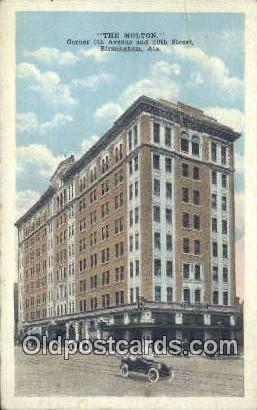 The Molton - Birmingham, Alabama AL Postcard