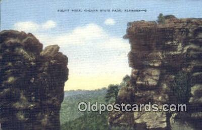 Pulip Rock - Cheaha State Park, Alabama AL Postcard