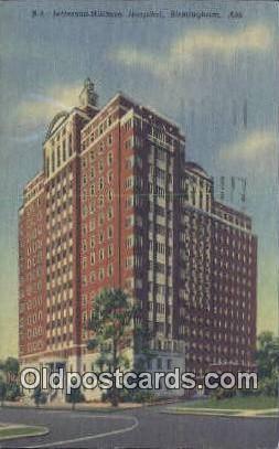 Jefferson Hillman Hospital - Birmingham, Alabama AL Postcard