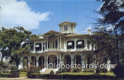 Burchfield Home - Tuscaloosa, Alabama AL Postcard