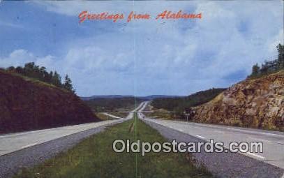 Rickwood Caverns - Birmingham, Alabama AL Postcard