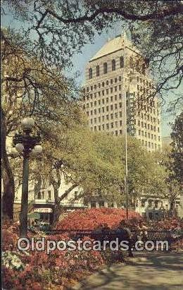Bienville Square - Mobile, Alabama AL Postcard