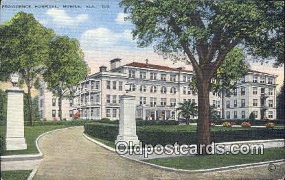 Providence Hospital - Mobile, Alabama AL Postcard