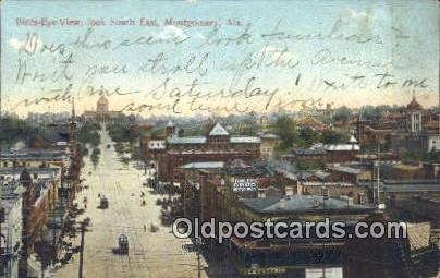 Montgomery, Alabama     ;     Montgomery, AL Postcard