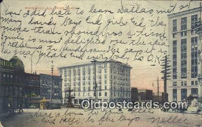 Court Square - Montgomery, Alabama AL Postcard