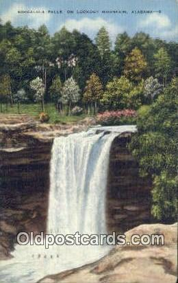 Noccalula Falls Park - Lookout Mountain, Alabama AL Postcard