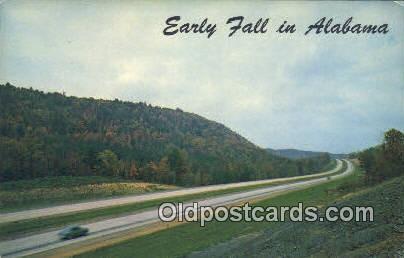 Cullman, Interstate 65 - Birmingham, Alabama AL Postcard