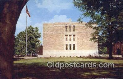Library Building, St Bernard College - Alabama AL Postcard