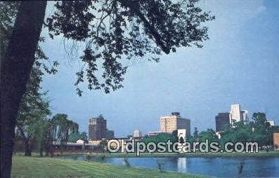 Big Spring International Park - Huntsville, Alabama AL Postcard