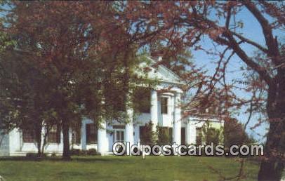 Oaklawn Plantation - Huntsville, Alabama AL Postcard