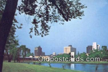 Big Springs International Park - Huntsville, Alabama AL Postcard