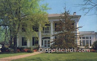 Governor's Mansion - Tuscaloosa, Alabama AL Postcard