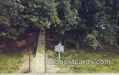Domicilary Indian Mount - Florence, Alabama AL Postcard