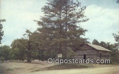 Pine Torch Church - Hepsidam, Alabama AL Postcard