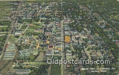Anniston, AL     ;     Anniston, Alabama Postcard