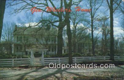 Gen. Joseph Wheeler Home - Alabama AL Postcard