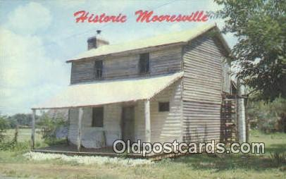 Old Stagecoach Hotel - Mooresville, Alabama AL Postcard