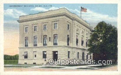 Government Building - Selma, Alabama AL Postcard
