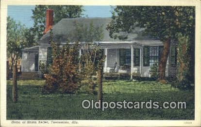 Home of Helen Keller - Tuscumbia, Alabama AL Postcard