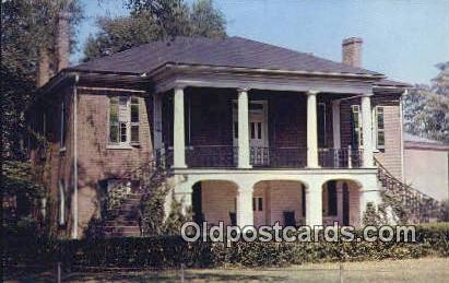 Gorgas Home - University, Alabama AL Postcard