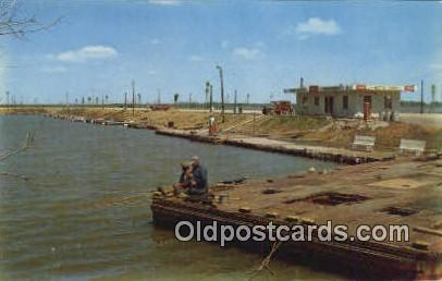 Decatur Boat Harbor, Alabama     ;     Decatur Boat Harbor, AL Postcard