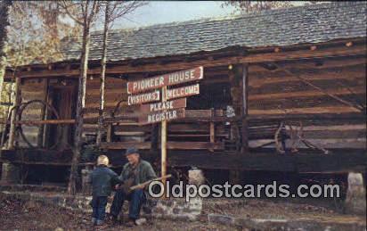 Pioneer House - Moulton, Alabama AL Postcard