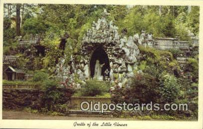 Grotto, Ave Maria Grotto - St Bernard, Alabama AL Postcard