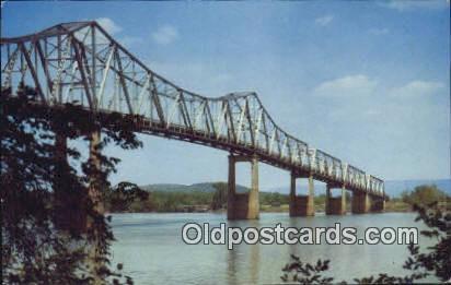 Clement Clay Bridge - Huntsville, Alabama AL Postcard