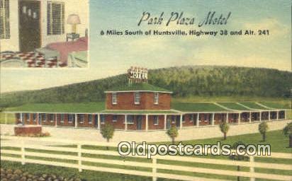 Park Plaza Motel - Huntsville, Alabama AL Postcard