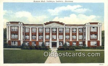 Science Hall - Tuskege Institue, Alabama AL Postcard