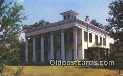 Sturdivant Home Museum - Selma, Alabama AL Postcard