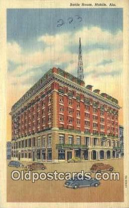 Battle House - Mobile, Alabama AL Postcard