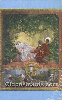 Sleeping Beauty, Treasure House - Theodore, Alabama AL Postcard