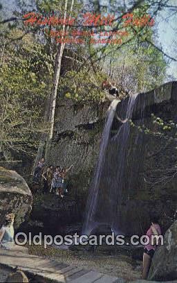 Rock Bridge Canyon - Hodges, Alabama AL Postcard