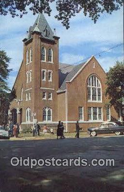 First Baptist Church - Decatur, Alabama AL Postcard